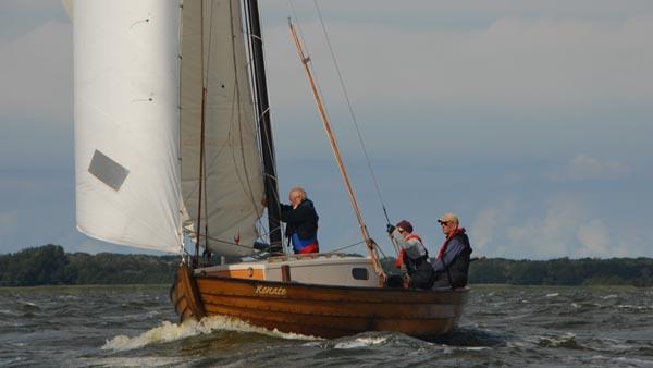 Renate, Volker Gries, Fischerregatta Althagen 2016 , 09/2016