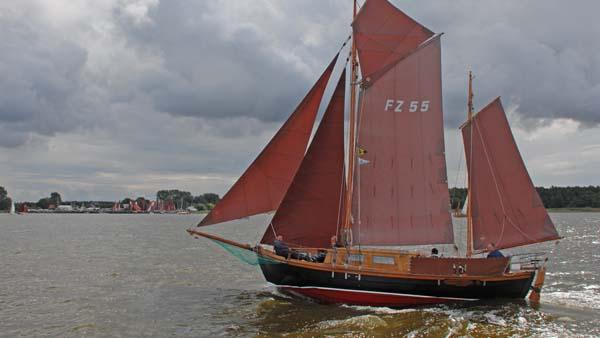 FZ55 De Kamper, Volker Gries, Zeesboot Regatta Bodstedt 2017 , 09/2017
