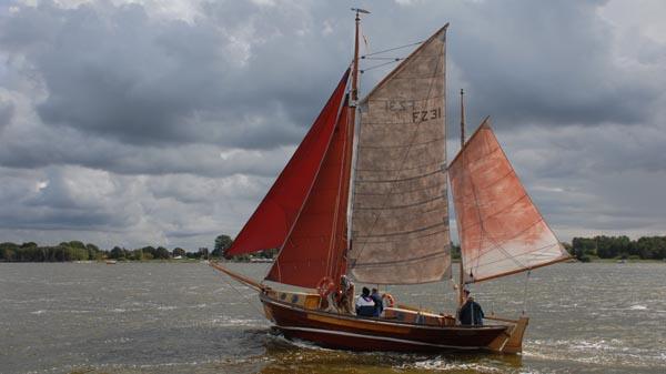 FZ31 Swantewit, Volker Gries, Zeesboot Regatta Bodstedt 2017 , 09/2017
