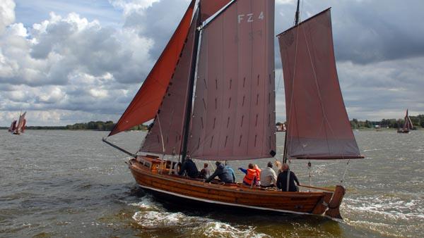 FZ4 Bill, Volker Gries, Zeesboot Regatta Bodstedt 2017 , 09/2017