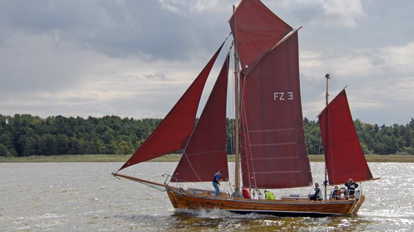 FZ3 Störtebeker, Volker Gries, Zeesboot Regatta Bodstedt 2017 , 09/2017