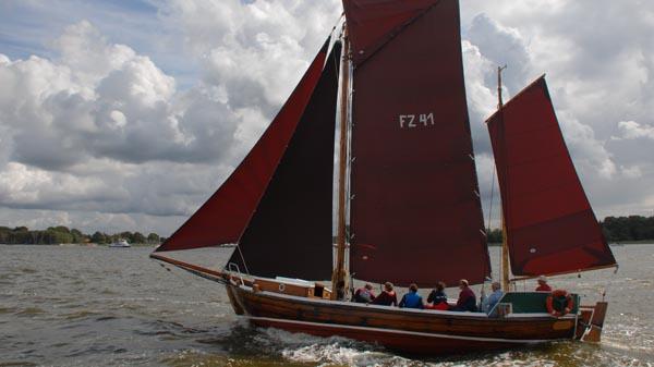 FZ41 Seriola, Volker Gries, Zeesboot Regatta Bodstedt 2017 , 09/2017