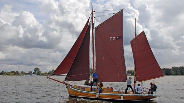 FZ1 Old Lady, Volker Gries, Zeesboot Regatta Bodstedt 2017 , 09/2017