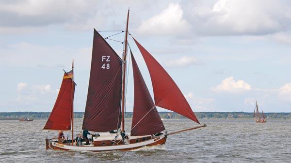 FZ48 Annegret, Volker Gries, Zeesboot Regatta Bodstedt 2017 , 09/2017
