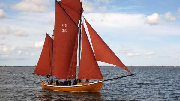 FZ25 Gertrud, Volker Gries, Zeesboot Regatta Bodstedt 2017 , 09/2017