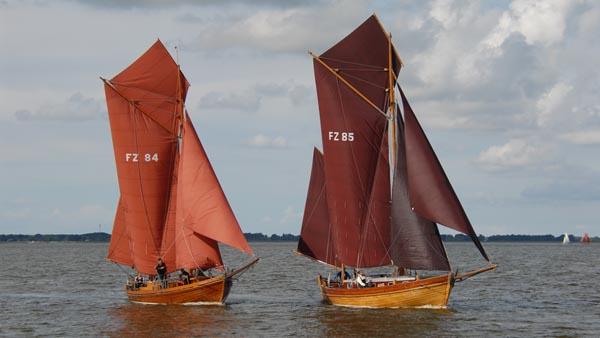 FZ85 Raun, Volker Gries, Zeesboot Regatta Bodstedt 2017 , 09/2017