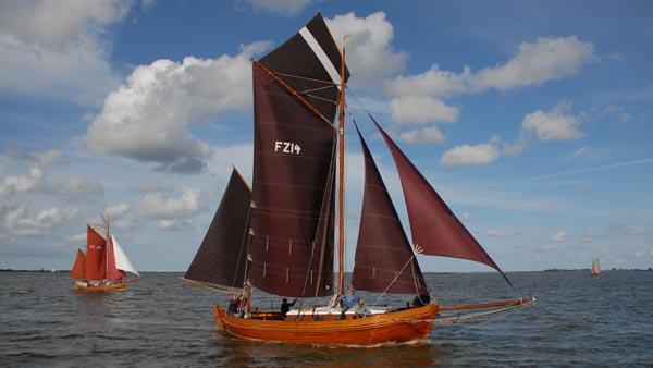 FZ14 Hanne Nüte, Volker Gries, Zeesboot Regatta Bodstedt 2017 , 09/2017