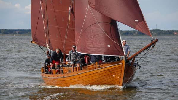 FZ75 Marie, Volker Gries, Zeesboot Regatta Bodstedt 2017 , 09/2017