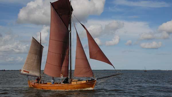 FZ58 Recknitz, Volker Gries, Zeesboot Regatta Bodstedt 2017 , 09/2017