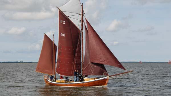 FZ30 Holzerland, Volker Gries, Zeesboot Regatta Bodstedt 2017 , 09/2017