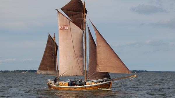 FZ38 Inge, Volker Gries, Zeesboot Regatta Bodstedt 2017 , 09/2017