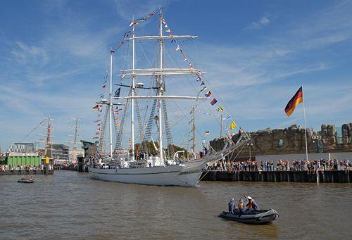 Shabab Oman, Volker Gries, Lütte Sail Bremerhaven 2008 , 08/2008