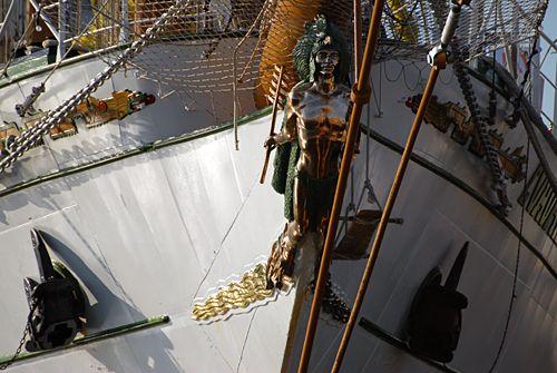 Cuauhtémoc, Volker Gries, Lütte Sail Bremerhaven 2008 , 08/2008