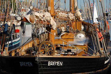 Hansine, Volker Gries, Lütte Sail Bremerhaven 2008 , 08/2008