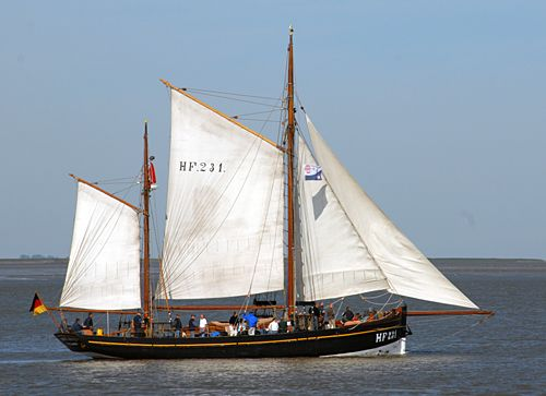 Landrath Küster HF 231, Volker Gries, Lütte Sail Bremerhaven 2008 , 08/2008