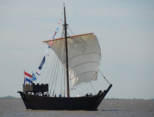 Kamper Hanze Kogge, Volker Gries, Lütte Sail Bremerhaven 2008 , 08/2008