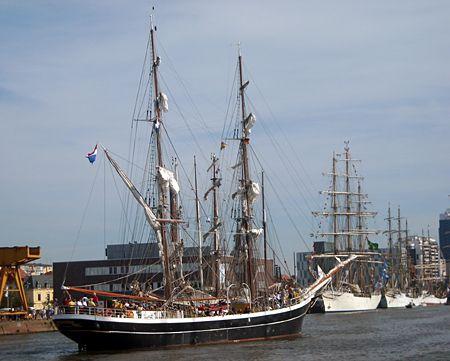 Morgenster, Volker Gries, Lütte Sail Bremerhaven 2008 , 08/2008