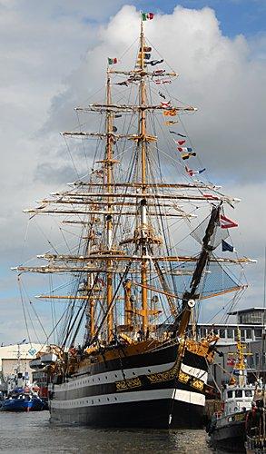 Amerigo Vespucci, Volker Gries, Sail Bremerhaven 2010 , 08/2010