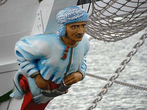 Shabab Oman, Volker Gries, Sail Bremerhaven 2010 , 08/2010