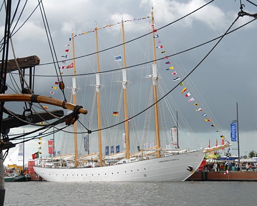 Santa Maria Manuela, Volker Gries, Sail Bremerhaven 2010 , 08/2010