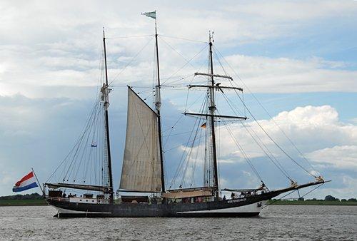 Oosterschelde, Volker Gries, Sail Bremerhaven 2010 , 08/2010