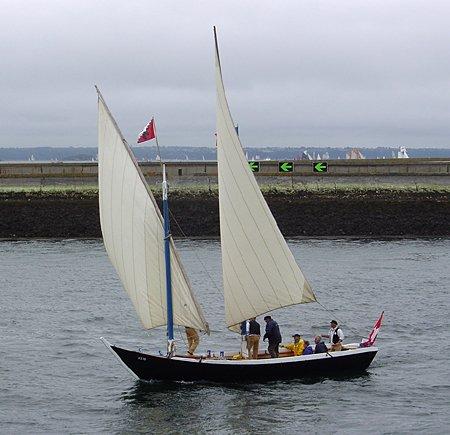 L'Aurore VS10, Volker Gries, Brest/Douarnenez 2004 , 07/2004