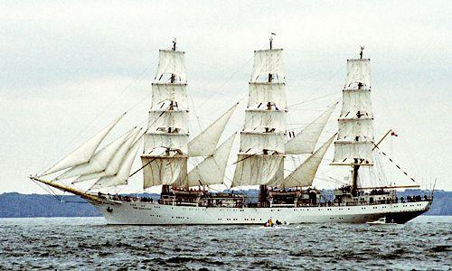 Dar Mlodziezy, Volker Gries, Brest/Douarnenez 2004 , 07/2004