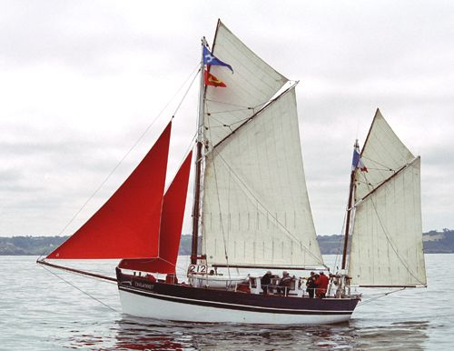 Croix du Sud III, Volker Gries, Brest/Douarnenez 2004 , 07/2004