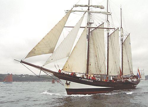 Oosterschelde, Volker Gries, Brest/Douarnenez 2004 , 07/2004