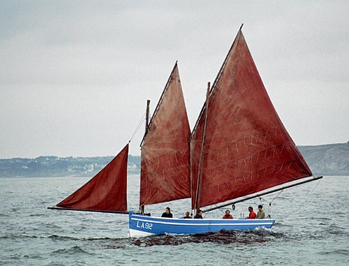 Barr Awel LA92, Volker Gries, Brest/Douarnenez 2004 , 07/2004