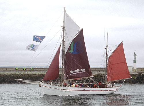 Notre Dame des Flots, Volker Gries, Brest/Douarnenez 2004 , 07/2004