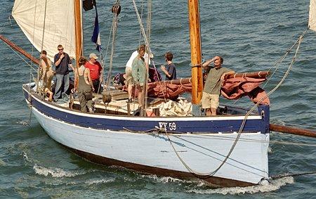 Reliance FY59, Volker Gries, Brest/Douarnenez 2004 , 07/2004