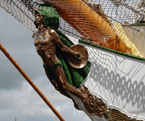 Cuauhtémoc, Volker Gries, Les Tonnerres de Brest 2012 , 07/2012