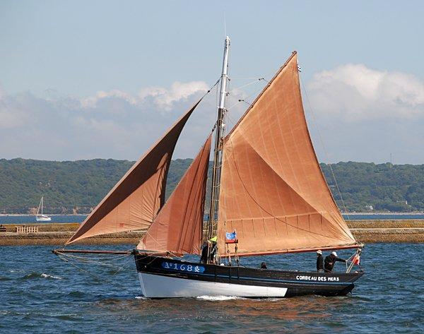 Corbeau des Mers AY1684, Volker Gries, Les Tonnerres de Brest 2012 , 07/2012