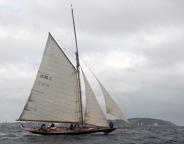 Pen Duick, Volker Gries, Les Tonnerres de Brest 2012 , 07/2012
