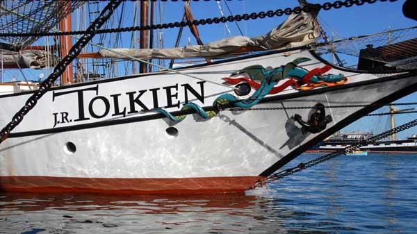 J.R.Tolkien, Volker Gries, Sail Brest 2016 , 07/2016