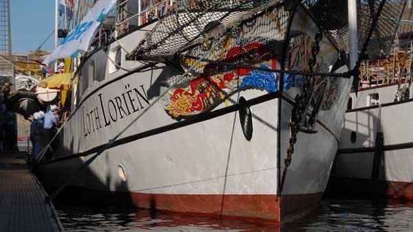 Loth Loriën, Volker Gries, Sail Brest 2016 , 07/2016