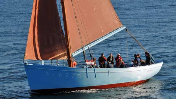 Saint Guénolé BR6773, Volker Gries, Sail Brest 2016 , 07/2016