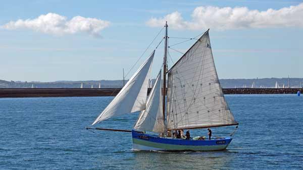 Amzer'zo, Volker Gries, Sail Brest 2016 , 07/2016