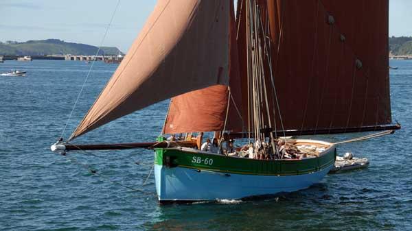 Sainte-Jeanne, Volker Gries, Sail Brest 2016 , 07/2016
