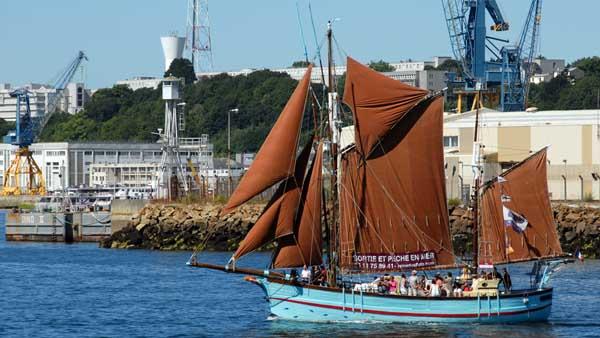 La Reine des Flots, Volker Gries, Sail Brest 2016 , 07/2016