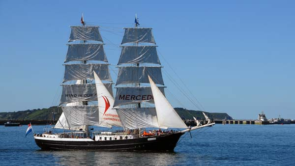 Mercedes, Volker Gries, Sail Brest 2016 , 07/2016