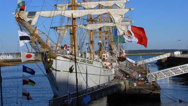 Cuauhtémoc, Volker Gries, Sail Brest 2016 , 07/2016