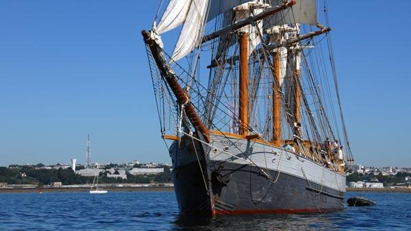Le Français, Volker Gries, Sail Brest 2016 , 07/2016