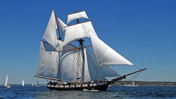 La Recouvrance, Volker Gries, Sail Brest 2016 , 07/2016