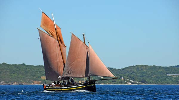 Belle de Vilaine, Volker Gries, Sail Brest 2016 , 07/2016