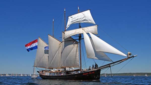 Hendrika Bartelds, Volker Gries, Sail Brest 2016 , 07/2016