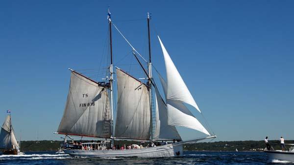 Joanna Saturna, Volker Gries, Sail Brest 2016 , 07/2016