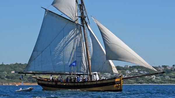 Le Renard, Volker Gries, Sail Brest 2016 , 07/2016