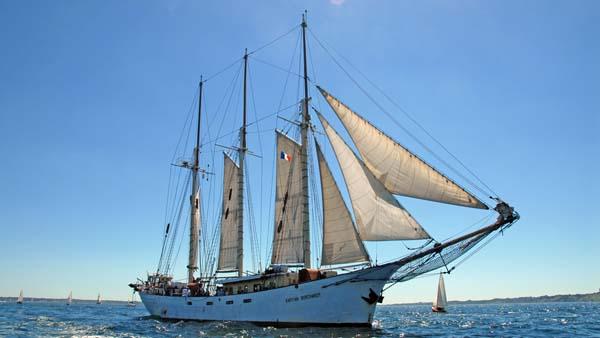 Kapitan Borchardt, Volker Gries, Sail Brest 2016 , 07/2016